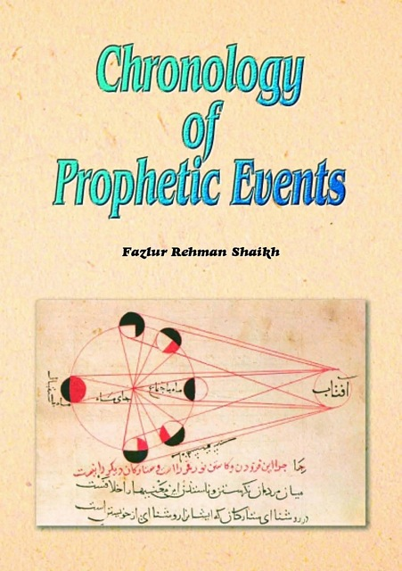Chronology of Prophetic Events